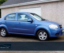 CHEVROLET AVEO LOW MILEAGE 1.2 LS 16V 4DR FOR SALE IN WESTMEATH FOR €3,950 ON DONEDEAL