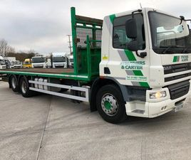 2011 DAF CF 75 310 32 FT FLAT FOR SALE IN ARMAGH FOR €1 ON DONEDEAL