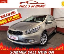KIA CEED CEE D SW 1.6 EX SUMMER SALE NOW ON - L FOR SALE IN WICKLOW FOR €11,995 ON DONEDEA