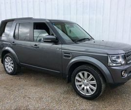 LAND ROVER DISCOVERY SDV6 SE CREW CAB/COMMERCIAL FOR SALE IN LIMERICK FOR €30,000 ON DONED