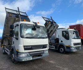 2012 DAF 45.160 LF 10 TONNE TIPPER FOR SALE IN DOWN FOR €1 ON DONEDEAL
