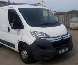 2015 CITROEN RELAY 33 L1 H1 2.2 HDI. NO VAT. FOR SALE IN TYRONE FOR £9,150 ON DONEDEAL