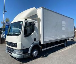 2014 DAF LF 45 160 7.5 TON 20FT BOX TAIL LIFT FOR SALE IN ARMAGH FOR €1 ON DONEDEAL