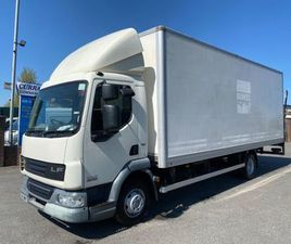 2014 DAF LF 45 160 7.5 TON 22FT BOX TAIL LIFT FOR SALE IN ARMAGH FOR €1 ON DONEDEAL