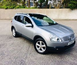 11 NISSAN QASHQAI +2 2.0 SVE SPEC NCT 6/21 FOR SALE IN ROSCOMMON FOR €5,000 ON DONEDEAL
