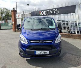 FORD TOURNEO CUSTOM INDEPENDENCE FOR SALE IN DUBLIN FOR €34,950 ON DONEDEAL