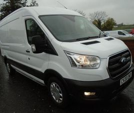 2020 FORD TRANSIT 350 L3H2 130HP TREND. FOR SALE IN DERRY FOR £24,250 ON DONEDEAL