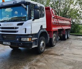 SCANIA P410 TIPPER FOR SALE IN ANTRIM FOR £35,500 ON DONEDEAL