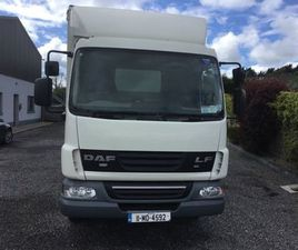 COMMERCIAL DAF 7.5 TONNE CURTAINSIDER TAILIFT FOR SALE IN MAYO FOR €8,500 ON DONEDEAL