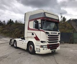 2014 SCANIA R580 6X2 TOPLINE LHD FOR SALE IN ROSCOMMON FOR €0 ON DONEDEAL