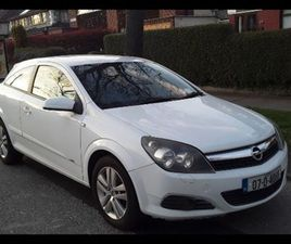 ASTRA GTC SXI 1.4 SPORT HATCH , NCTD FOR SALE IN DUBLIN FOR €1,200 ON DONEDEAL
