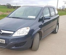 CLEAN OPEL ZAFIRA 1.6 FOR SALE IN TIPPERARY FOR €2,100 ON DONEDEAL