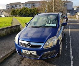 VAUXHAL ZAFIRA LIFE FOR SALE IN GALWAY FOR €1,500 ON DONEDEAL