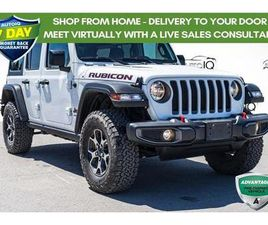 USED 2018 JEEP WRANGLER UNLIMITED RUBICON HEATED SEATS AND WHEEL | ALPINE SOUND