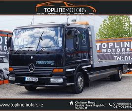 MERCEDES-BENZ ATEGO 815 RECOVERY/TILT SLIDE WITH FOR SALE IN DUBLIN FOR €13,950 ON DONEDEA