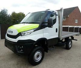 * NEW * IVECO DAILY 55-170, 4X4, MWB, UNREGISTERED, ALLUMINUM FLATBED BODY, AWD