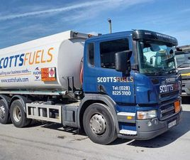2007 SCANIA P310 6X2 REAR LIFT OIL TANKER FOR SALE IN ARMAGH FOR €UNDEFINED ON DONEDEAL