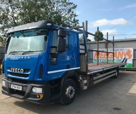 IVECO EURO CARGO 140E25. 32FT FLAT BED SLEEER CAB. FOR SALE IN LOUTH FOR €19,500 ON DONEDE