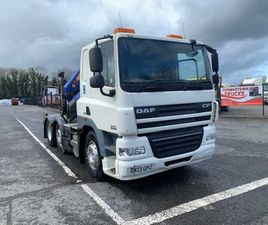 2013 DAF CF85.460 6X2 MID-LIFT, CRANE MOUNTED T/U FOR SALE IN LOUTH FOR €UNDEFINED ON DONE
