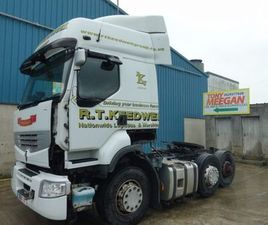 RENAULT PREMIUM ROUTE 460.25 6X2 LD TML FOR SALE IN LOUTH FOR €UNDEFINED ON DONEDEAL