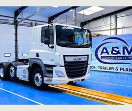 2014 (64) DAF CF 460, EURO 6, 6X2 MIDLIFT AXLE, 3. FOR SALE IN MONAGHAN FOR €UNDEFINED ON