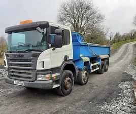 2008 SCANIA P340 8X4 TIPPER MANUAL. REF NO: 2143 FOR SALE IN MONAGHAN FOR €UNDEFINED ON DO