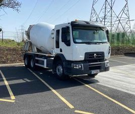 RENAULT C CAB 6X4 MIXER 60,000 KMS FOR SALE IN DUBLIN FOR €62,250 ON DONEDEAL