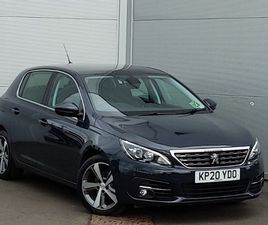 USED 2020 (20) PEUGEOT 308 1.5 BLUEHDI 130 ALLURE 5DR IN LINWOOD