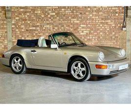 1990 PORSCHE 911 3.6 CARRERA 2 CABRIOLET - £47,995
