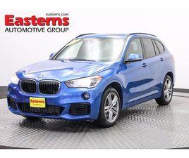 BLUE COLOR 2018 BMW X1 XDRIVE28I FOR SALE IN ALEXANDRIA, VA 22304. VIN IS WBXHT3C36J5F8932