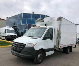 2019 MERCEDES-BENZ SPRINTER CAB CHASSIS SPRINTER 4500- CUBE- REEFER/FREEZER-14.5 FT BOX |