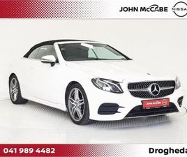 MERCEDES-BENZ E-CLASS 220 D AMG SPORT 2DR AUTO CA FOR SALE IN LOUTH FOR €45,950 ON DONEDEA