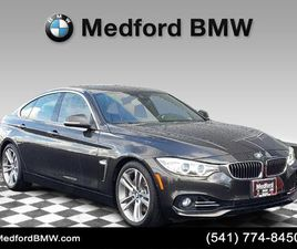 BROWN COLOR 2016 BMW 4 SERIES 435I GRAN COUPE FOR SALE IN MEDFORD, OR 97504. VIN IS WBA4B1