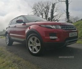 USED 2014 LAND ROVER RANGE ROVER EVOQUE PUR T ED NOT SPECIFIED 77,000 MILES IN RED FOR SAL