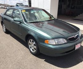 GREEN COLOR 1998 MAZDA 626 LX FOR SALE IN TWIN FALLS, ID 83301. VIN IS 1YVGF22CXW5716555.