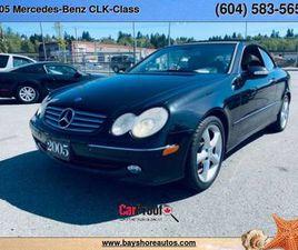 2005 MERCEDES-BENZ CLK-CLASS 2DR CABRIOLET 3.2L