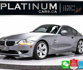 2006 BMW Z4 M COUPE, 330HP, MANUAL, M-SPORT SEATS/STEERING WHEEL | CARS & TRUCKS | CITY OF