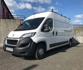 USED 2018 PEUGEOT BOXER 335 PRO L3H2 BLUE H NOT SPECIFIED 47,500 MILES IN WHITE FOR SALE  