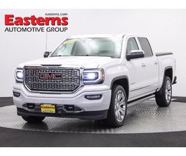 WHITE COLOR 2017 GMC SIERRA 1500 DENALI FOR SALE IN TEMPLE HILLS, MD 20748. VIN IS 3GTU2PE