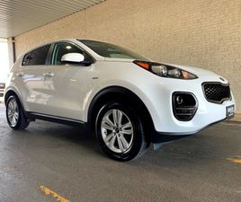 WHITE COLOR 2018 KIA SPORTAGE LX FOR SALE IN CHARLES TOWN, WV 25414. VIN IS KNDPMCAC8J7412