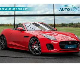 2019 JAGUAR F-TYPE 2.0 I4 CHEQUERED FLAG CONVERTIBLE - £47,980