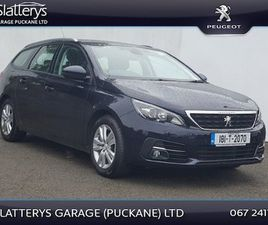 PEUGEOT 308 B6 F/L SW ACTIVE 1.2 110 4 FOR SALE IN TIPPERARY FOR €15,995 ON DONEDEAL