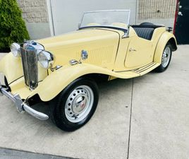 1952 MG TD ROADSTER CONVERTIBLE - FULLY RESTORED - ORIGINAL MG ! MATCHING NUMBERS ! | CARS