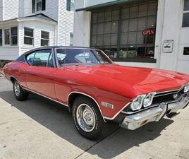 1968 CHEVROLET CHEVELLE REAL SS 396, MOSTLY ORIG, NICE DRIVER QUALITY CAR