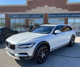 2017 VOLVO V90 CROSS COUNTRY T6, 2 SETS OF TIRES/RIMS, 1 OWNER, NO ACCIDENTS!   CARS & TRU