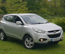 132 HYUNDAI IX35 1 LADY OWNER FROM NEW FOR SALE IN LIMERICK FOR €9,950 ON DONEDEAL