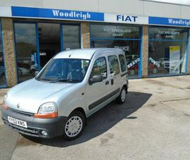 RENAULT KANGOO 1.4 RXE 5DR,AUTO WHEELCHAIR ADAPTED