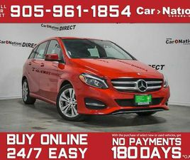 2016 MERCEDES-BENZ B-CLASS SPORTS TOURER | CARS & TRUCKS | OAKVILLE / HALTON REGION | KIJI