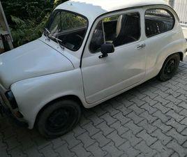 ZASTAVA 750 LE FICO / FIAT 600D