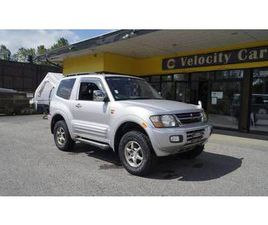 1999 MITSUBISHI PAJERO EXCEED 4WD 2DR LEATHER SUNROOF 3500 AT 127K